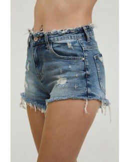 Shorts denim elásticos