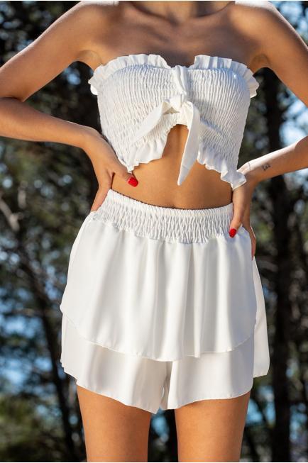 Falda short + top