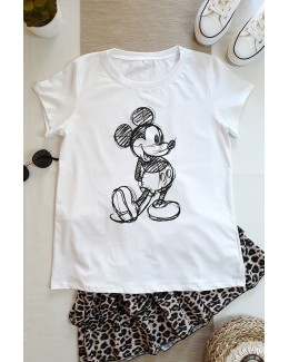 Camiseta MICKEY BLANCO